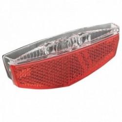 Fanale posteriore MV-TEK BRIGHT attacco al portapacco 2 Led rossi
