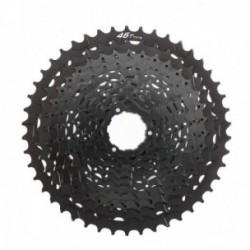 Pacco pignoni Microshift 11/46 11 velocità alluminio nero