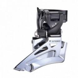 Deragliatore anteriore MTB Microshift Dual Pull 2x11 velocità alluminio