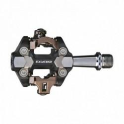 Pedali sgancio rapido Exustar MTB E-PM222 82.2x61.6mm