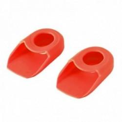 Protezione pedivella MV-TEK rosso confezione da 2 pezzi