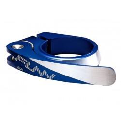 Collarino FUNN Frodon QR 34,9 mm CNC blu