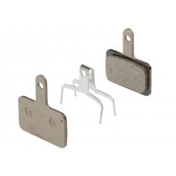 Shimano, Pastiglie e ricambi pattino, disc, Deore, pastiglia in resina  B01-S (supporto in acciaio) , con molla, per BR-M485,575
