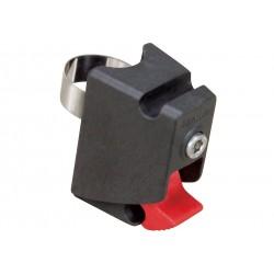 RIXEN & KAUL, KLICKfix, Contour Max Adapter, adattatore per reggisella, adatto a Ø 25 - 28mm & 28 - 32mm, massimo carico 3kg