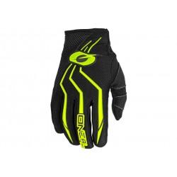 O'Neal, Guanti, ELEMENT Glove, colore: nero/giallo fluo, misura: L/9