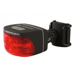 Sigma Sport, Impianto illuminazione, CUBERIDER I BLACK, faretto posteriore a LED