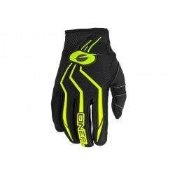 O'Neal, Guanti, ELEMENT Glove, colore: nero/giallo fluo, misura: S/8