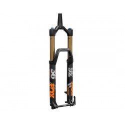 Forcella da 27.5 Boost Fox Racing 36 K Float Factory Grip2 FIT conica 170mm/Offset 37mm nero opaco/arancione