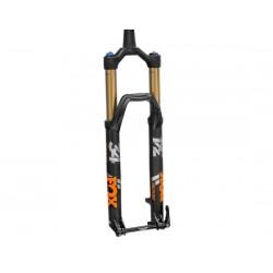 Forcella da 29 Boost Fox Racing 34 K Float Factory 140 3Pos-Adj FIT4 conica 140mm/Offset 44mm nero opaco/arancione