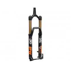Forcella da 29 Boost Fox Racing 36 K Float Factory 160 3Pos-Adj FIT4 conica nero opaco/arancione