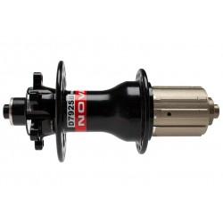 Novatec, Mozzi, MTB Disc Superlight posteriore, 4in1, D792SB-QR, 32-fori, colore nero lucido, con sgancio rapido, per Shimano 11