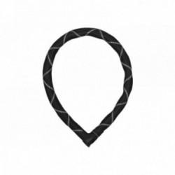 Abus, Lucchetti, Steel-O-Flex, IVEN Steel-O-Flex 8200, Security Level 8, colore: nero/bianco, lunghezza: 85cm, gusci in acciaio