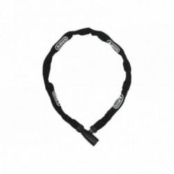 Abus, Lucchetti, Lucchetto a catena, 1500 Web, Security Level 3, colore: nero, lunghezza: 110cm, catena a sezione tonda da 4 mm