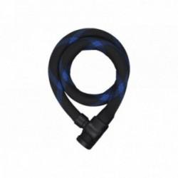 Lucchetto con catena Abus Steel-O-Flex Ivera 7200 nero/blu 85cm supporto incluso