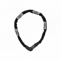 Abus, Lucchetti, Lucchetto a catena, Steel-O-Chain 5805C, Security Level 4, colore: nero, lunghezza: 75cm, catena a sezione quad