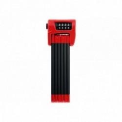 Lucchetto semisnodato Abus Bordo Combo 6100 SH rosso 90cm Security Level 9