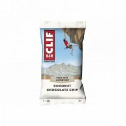 CLIF BAR, Barretta energetica, cocco-chocolate chips, 68g a barretta, confezione da 12 pezzi