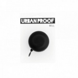 Campanello URBAN PROOF Ø 60mm montaggio al manubrio 22.2mm Tring Bell Nero Opaco