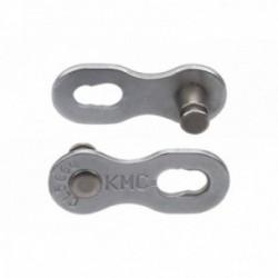 Falsa Maglia KMC 9NR 9 velocità Confezione da 2 pezzi Argento