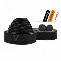 Nastro manubrio Astute Luxury Black nero/arancione/bianco