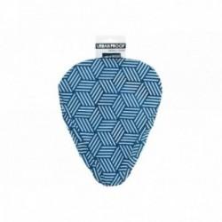 Coprisella Urban Proof taglia unica blu scuro con stampa geometrica