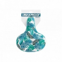 Sella Urban Proof Comfort in pelle PU idrorepellente taglia unica leafs