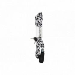 Lucchetto a catena Urban Proof 8mmx900mm nero/bianco