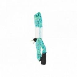 URBAN PROOF, Lucchetti, Lucchetto a catena, lunghezza 900mm, maglie da 8mm in acciaio rinforzato, menta, coriandoli Dots