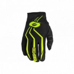 Guanti O'Neal ELEMENT Youth Glove Taglia S/ 3- 4 nero/giallo fluo