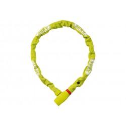 Abus, Lucchetti, Lucchetto a catena, uGrip Chain 585, Security Level 5, colore: verdelime, lunghezza: 110cm, catena a sezione q
