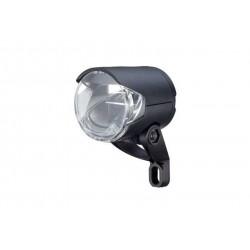 Herrmans, Impianto illuminazione, H-Black MR4 Dinamo, LED faretto anteriore, colore nero, Dynamo 6V WS, ca. 100 Lume, con catadi