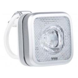 Luce anteriore Knog Blinder MOB bianco LED argento/bianco