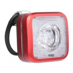 Luce anteriore Knog Blinder MOB bianco LED rosso/nero