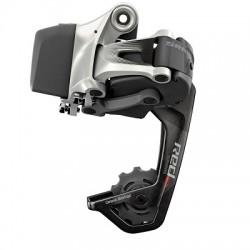 Deragliatore posteriore SRAM RED E-TAP 11 velocità gabbia media 32 denti nero