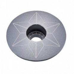 Tappo serie sterzo SUPACAZ STAR CAPZ grigio metallizzato