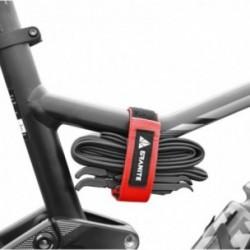 FUNN Fascia Portacamera con Velcro per Telai MTB Rossa