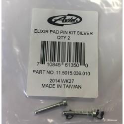 Elixir Pad Pin Kit, Silver Qty 2