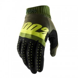 Guanto Ridefit, Army Green Fluo Lime L