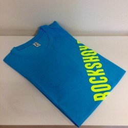 Sram Rockshox T-Shirt Aqua Tg.Xl