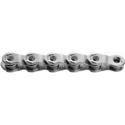 KMC, Catena, HL1 Wide Silver, für 1-fach, 100-link, Half Link Design, rivestimento in nickel, adattamento lunghezza ottimale, Bu