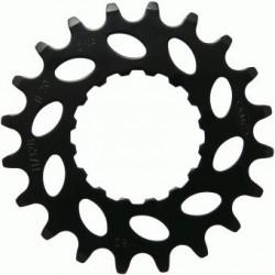 """KMC, Pignoni, E-Bike, Bosch, per Active e Performance Line, 21d, 11/128"""", materiale: Chromoly, colore: nero"""