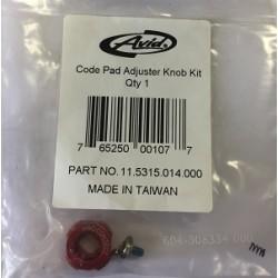 Code Pad Adjuster Knob Kit Qty 1