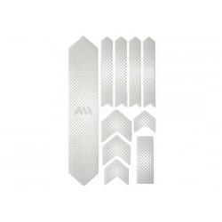 Protezione telaio All Mountain Style Honeycomb XL bianco