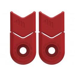 Protezione pedivelle All Mountain Style rosso