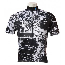 Maglia Geo Black/White Medium