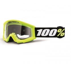 Masc. Strata Mini Goggle Yellow - Clear
