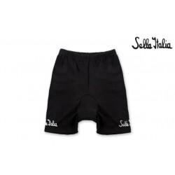 SELLA ITALIA Pantaloncino Corto SELLA ITALIA Nero (XL)